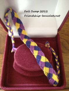"DIY ""braided"" friendship bracelet. Kayla please remember to make this."
