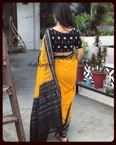 Sambalpuri ikkat sari.. handloom love