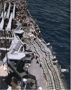 Loading 14' shells aboard New Mexico, 1944