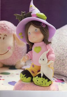Little witch in jammies