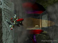 Shadow the Hedgehog in front of the moon | Shadow the Hedgehog - 24.90e - PlayStation 2 - Puolenkuun Pelit ...