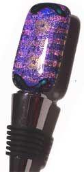purple flower wine stoppers - Google Search Purple Wine, Wine Bottle Stoppers, Vintage Microphone, Purple Flowers, Google Search, Wine Bottle Corks