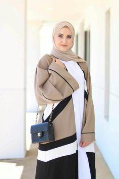 Hijab Fashion 2017 : Une sélection des meilleurs looks Hijab moderne chic pour le printemps-été