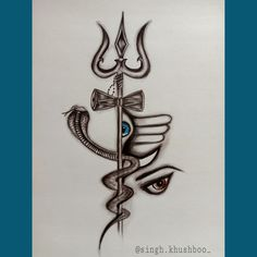 Ganesha Drawing, Ganesha Art, Girly Drawings, Art Drawings Sketches Simple, Lord Shiva Sketch, Poetry Happy, Pencil Drawings For Beginners, Abstract Pencil Drawings, Shiva Tattoo Design