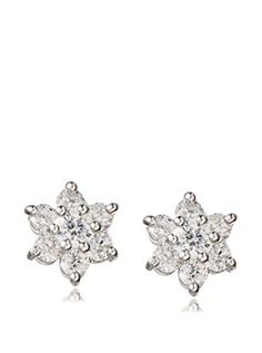 www.myhabit.com  Simple and shimmering CZ star earrings are a luminous addition to your daily wardrobe