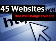 44 Unique And Useful Websites That Will Change Your Life (pin now, read later) Life Hacks Websites, Hacking Websites, Amazing Websites, Cool Websites, Web Design, Design Ideas, Computer Internet, Computer Tips, Computer Help