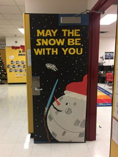 2016-17 Our Christmas Door Decoration- STAR WARS