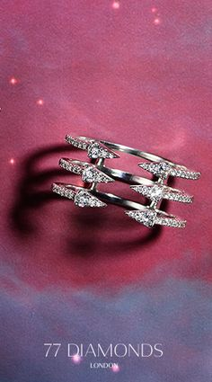 Our #Seta #Cocktail #ring, which is #part of our #galaxy #collection would be the #perfect #gift for any #loved one. #festive #present #ideas