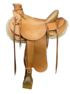 "Horse Gear Innovations Shop - Wade Saddle ""Rawhide"" Wade Saddles, Horse Gear, Rind, Messing, Tack, Saddle Bags, Gears, Shopping, Style"