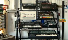 Synth rack!