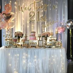 21 Birthday Themes Party Ideas 18th Decorations Shot
