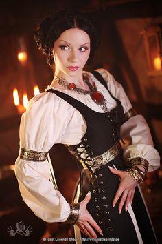 Mittelalter Kleidung für Frauen