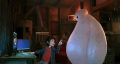 "Baymax is a marvel of cuteness engineering. | 6 Reasons To Fall In Love With Disney's ""Big Hero 6"""