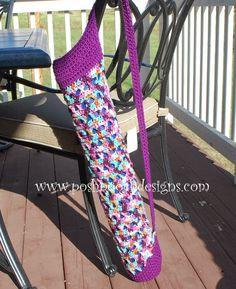 Yoga Mat Free Crochet Pattern