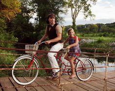 Photo shoot in TUSCUMBIA, al. Recording Artist-Eric Heatherly with his daughter, Christiana.  Photographer-Amanda Chapman