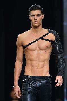 guys in leather pants. — derrius-pierre:     Details Of Dirk Bikkembergs...