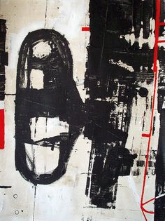 Abstract geometric painting / Original urban modern architectural canvas painting / 40x30 / Made to order / ELSTON