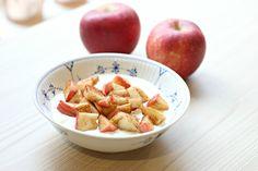 Sunn hverdagskost med sesongens epler.