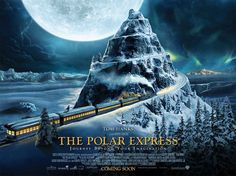 polar express movie logo - Google Search I understand that a movie poster is not a logo.  But maybe something similar in feel for the home page of the web site.