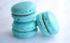 French Macaron Cookies 12 Blueberry by SplendidSweetShoppe on Etsy, $21.00 bridal shower