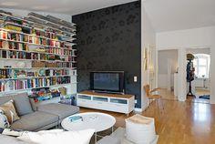 Diseño de Interiores & Arquitectura: Apartamento Ático detalles con encanto en Suecia