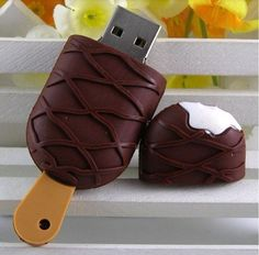 32GB #Chocolate Swirl Ice Cream Bar #USB Flash #Drive