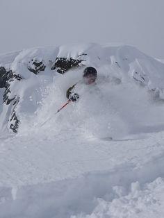 Powder Skiing Chamon