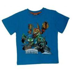 Tee-shirt Skylanders - bleu clair