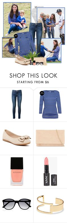 """""""Kate Middleton"""" by rfultrastars ❤ liked on Polyvore featuring Frame Denim, Chase & Chloe, Karen Millen, Witchery, M&S, Sole Society, women's clothing, women, female and woman"""