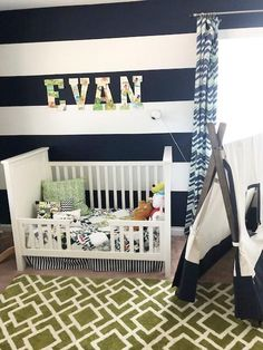 #kidsroomdecor Since I shared my youngest son's nursery, I thought I would share my oldest son's 'big boy' room too! I DIY-ed so much in here and enjoyed designing a space with kids room decor that can grow with him. #diykidsdecor