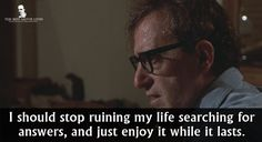 Woody Allen in Hannah And Her Sisters (1986).