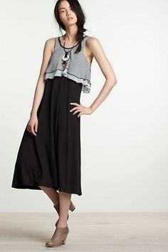 Layered Lines Tank Dress-Layered Lines Tank Dress