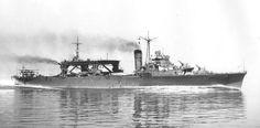 Seaplane tender Chitose off Kagoshima, Japan, 18 Jul 1938