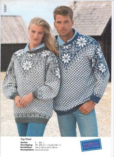 93097 Nordic Sweater, Men Sweater, Fair Isle Knitting, Nordic Design, Vintage Knitting, Crochet Clothes, Knit Crochet, Men Casual, Pullover