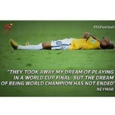 "@neymar_footballfan's photo: ""They took his dream This is unfair and I hate it  #neymar"""