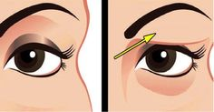 Saggy and droopy eyelids can be really annoying and makeup often looks unattractive on loose skin. Droopy eyelids may even make a person look much older. In general, droopy eyelids are a result of the natural Saggy Eyelids, Drooping Eyelids, Droopy Eyes, Beauty Secrets, Beauty Hacks, Beauty Tips, Diy Beauty, Loose Skin, Tips Belleza
