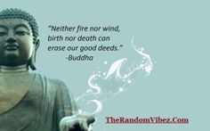 Buddha Quotes - Deeds