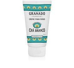 Linha Terrapeutics Granado  Creme para Maos Cha Branco 50 Ml  Granado Terrapeutics Collection  White Tea Hand Cream 169 Fl Oz ** See this great product.