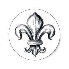 Sou simplesmente fascinada pela significação, história e utilização da flor de lis como símbolo. Será minha tatoo de pulso.          *F...