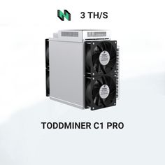 3099€ - Toddminer C1 PRO (3th) mining Eaglesong algorithm with a hashrate of 3th/s. Asic Bitcoin Miner, Mining Pool, Crypto Mining, Bitcoin Cryptocurrency, Crypto Currencies, Blockchain