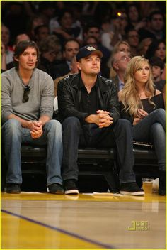 leonardo dicaprio lukas haas lakers game 05 Leonardo DiCaprio sits courtside at the Los Angeles Lakers game held at the Staples Center on Friday (March 19) in L.A.    The 35-year-old actor brought his BFF,…