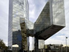 Torre Gas natural by Enric Miralles and Benedetta Tagliabue (Embt Arquitectes)    Plaza del Gas, 1 Barcelona