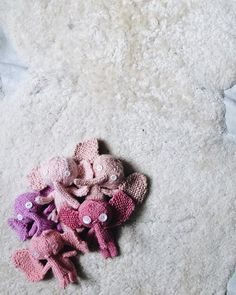 Just dropped off some one of a kind little knit elephants I made just for @quirk_gallery!  - http://ift.tt/1NTRLxU