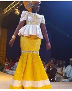 Taille Basse Senegalaise A La Mode Pagne Et Haut Mode Africaine