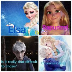 Those who ship Jackunzel are dumb. She is MARRIED to Eugene. Jack and Elsa were made for eachother. If only I knew Disney and DreamWorks emails. I would be so persistent they would be forced to make Jelsa. Funny Disney Jokes, Disney Memes, Jelsa, Disney And More, Disney Love, Frozen And Tangled, Frozen Disney, Disney Disney, Disney Princess
