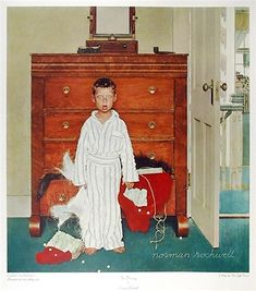 The Discovery - Norman Rockwell