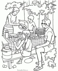 These Free Printable Camping Coloring Pages Are Fun For Kids And More