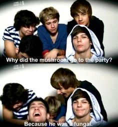 what about harrys jokes though why do they not laugh at his XD
