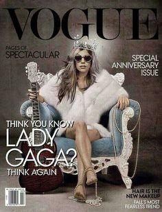 think you know lady gaga? think again. Lady Gaga VOGUE