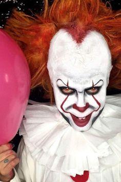maquiagem de palhaço para halloween